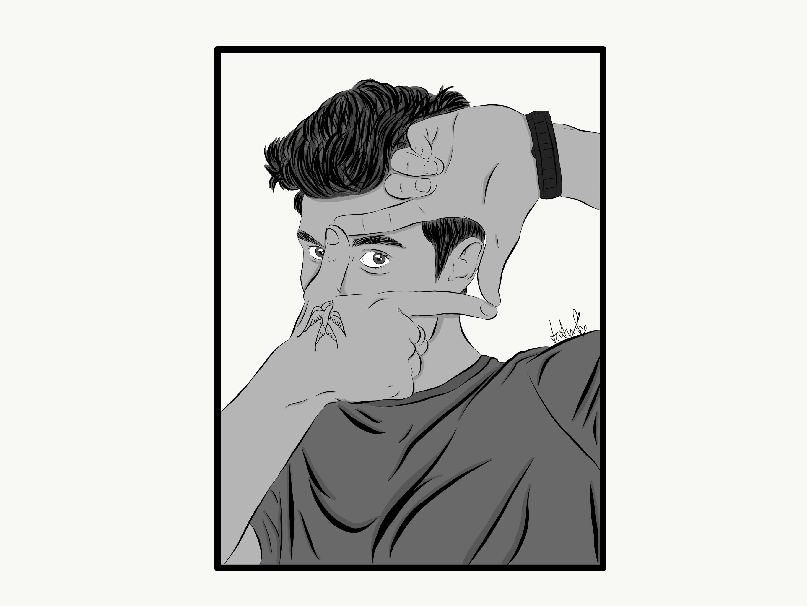 Shawn Mendes Cartoon Cartoon Drawings Shawn Mendes Tattoos Shawn Mendes