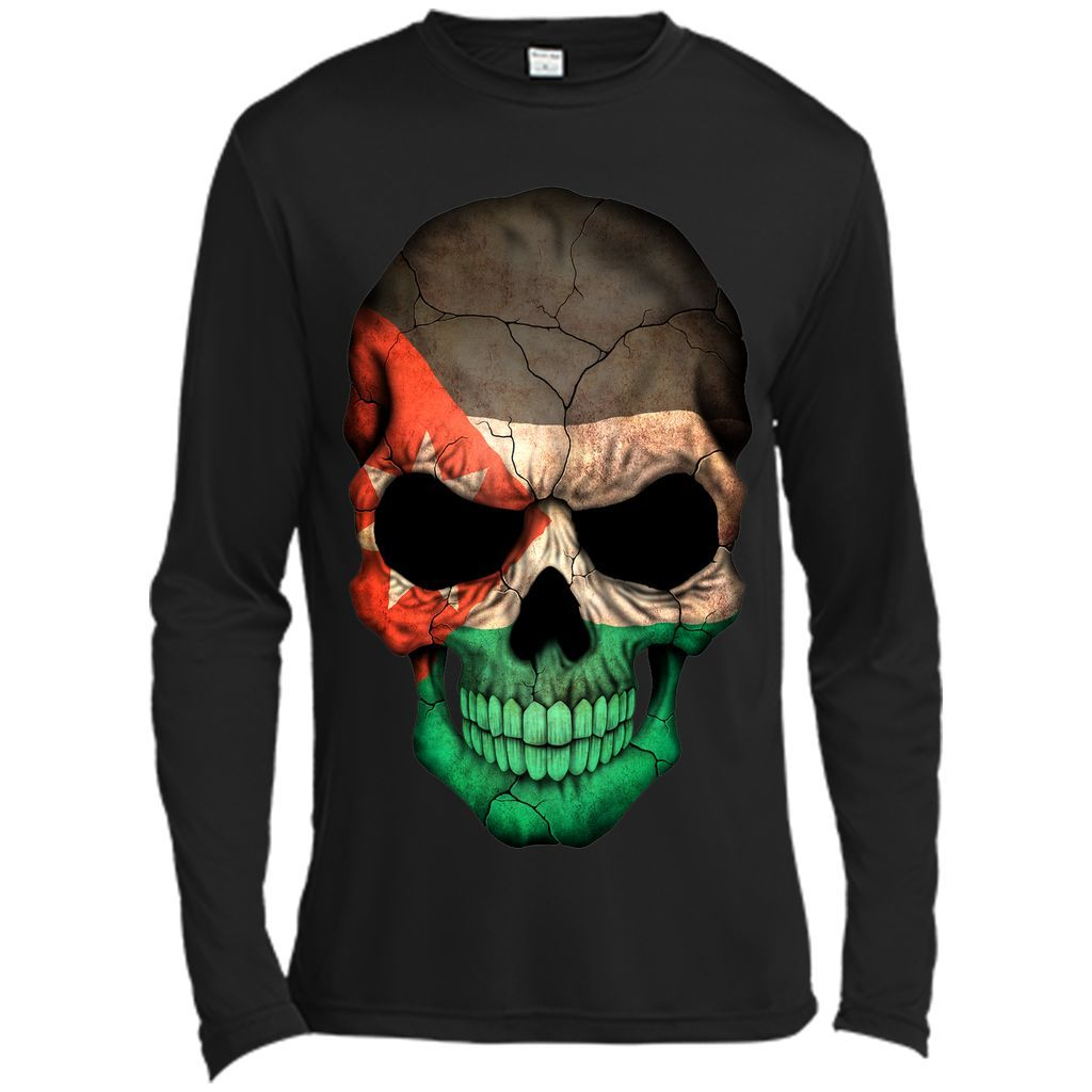 Jordanian Flag Skull Jordan T-Shirt | Products | Pinterest
