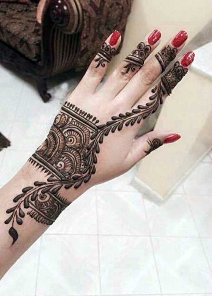 Top 20 Latest Bracelet Style Mehndi Designs To Inspire You ...