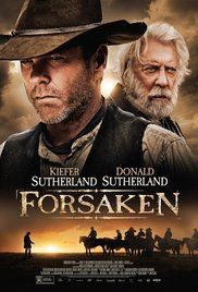 Forsaken Kiefer and Donald Sutherland share the screen in this brooding western about an embittered gunslinger who attempts to make amends with his estranged father whilst their community is besieged by ruthless land-grabbers.