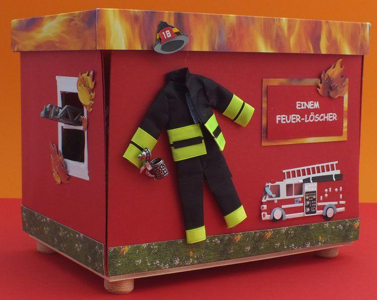 Explosionsbox Feuerwehr Feuerwehr Geschenke Geschenke Geburtstags Geschenk Mann