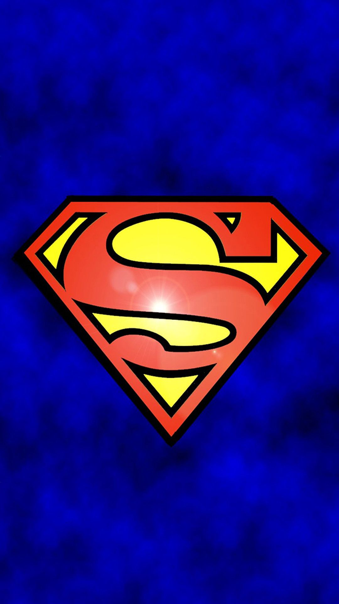 Tap And Get The Free App Movies Superman Logo Blue Cool Funny