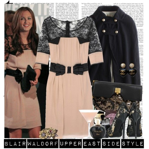Blair Waldorf Upper East Side Style By Sarahthefashionista On Polyvore