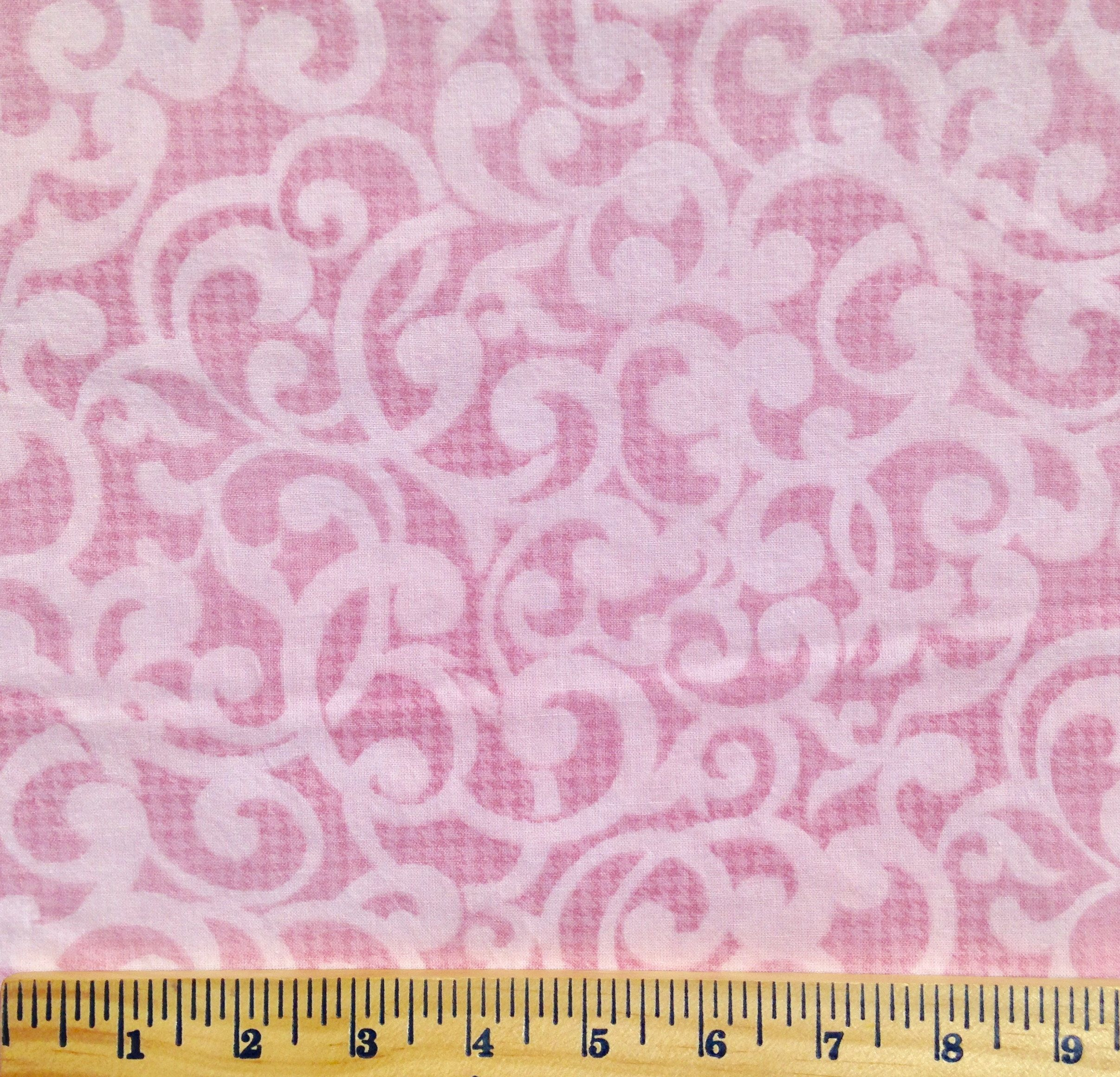Quilt backing, Pink swirl, extra wide quilt backing, 3 yards wide ... : extra wide quilt backing fabric - Adamdwight.com