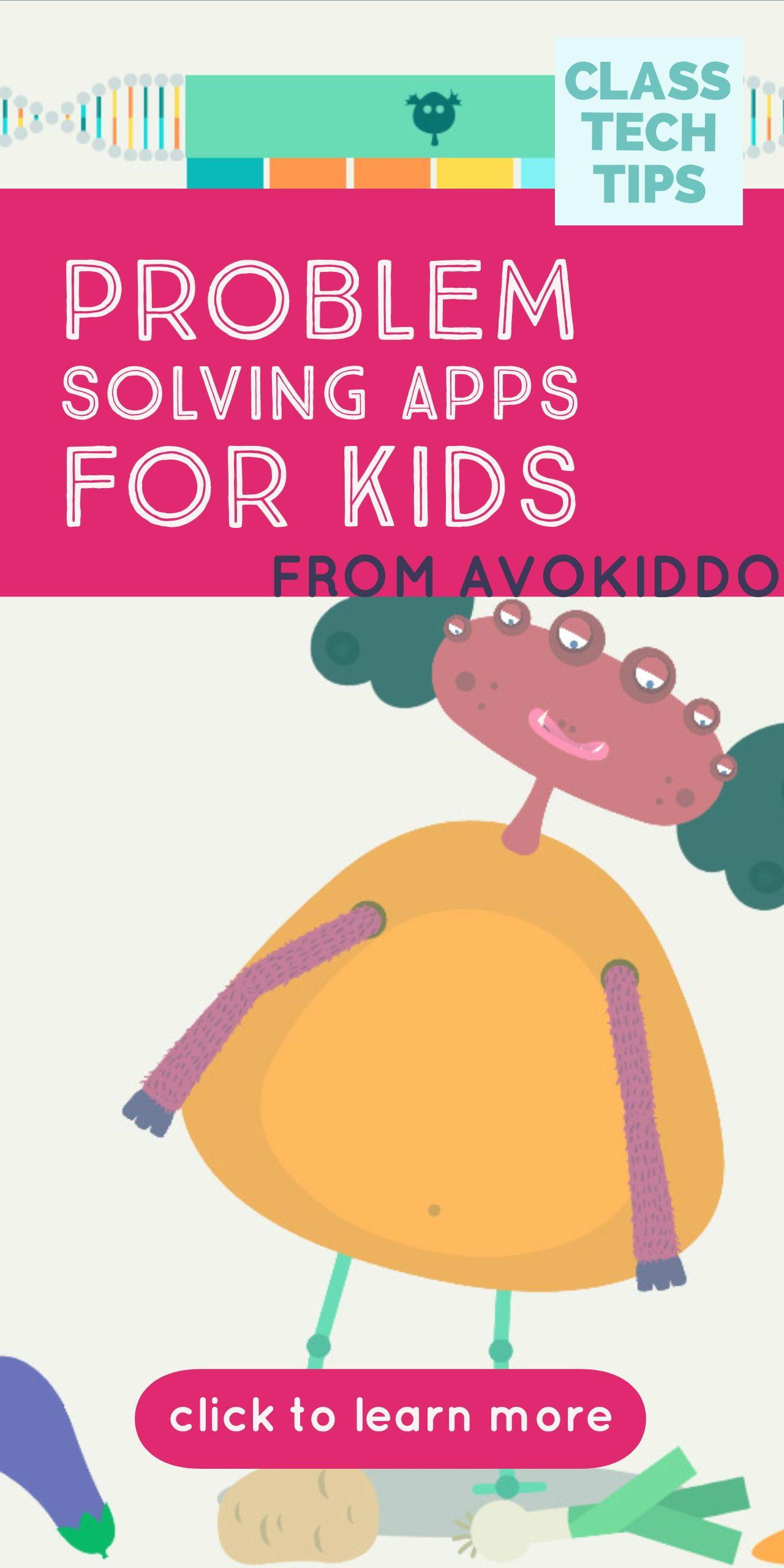Problem Solving Apps For Kids From Avokiddo