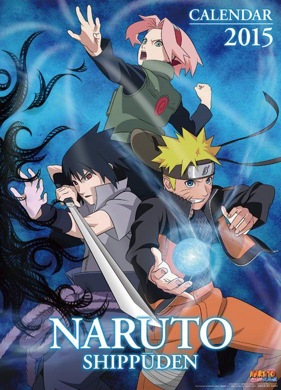 Naruto Shippuden 2015 Calendar