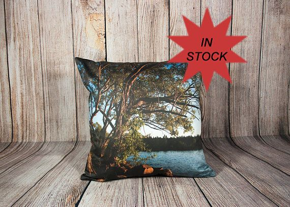 Decorative Pillow Covers Scenic Photo Cushion By