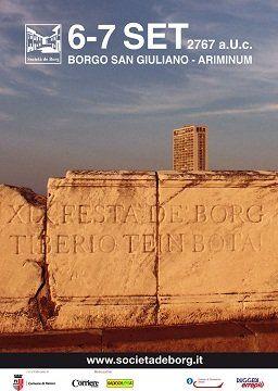 La XIX Festa de' Borg celebra il Ponte di Tiberio