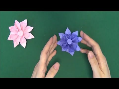 Origami Gerbera Tutorial How To Make Paper Gerbera Flower