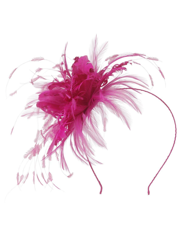 Ise Bright Pink Fascinator