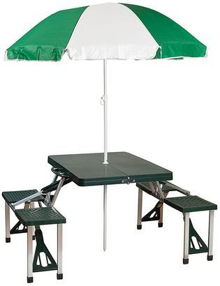 Pin By Stylishoffer On Accessories Portable Picnic Table Picnic Table With Umbrella Folding Picnic Table