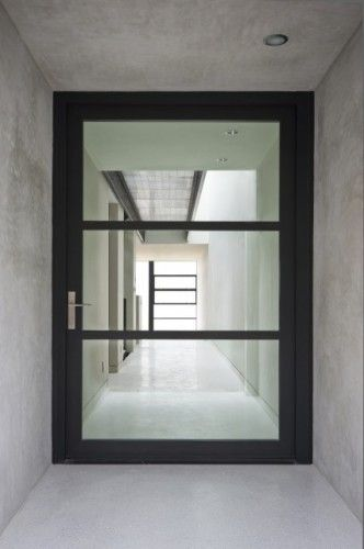 Oversize Pivoting Door That Fills The Entire Portal Coolness.