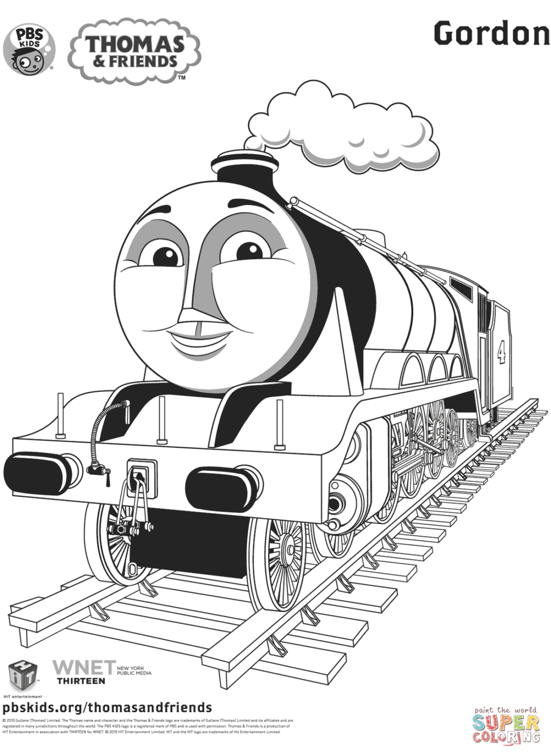 Thomas Coloring Pages | Train coloring pages, Thomas and ...