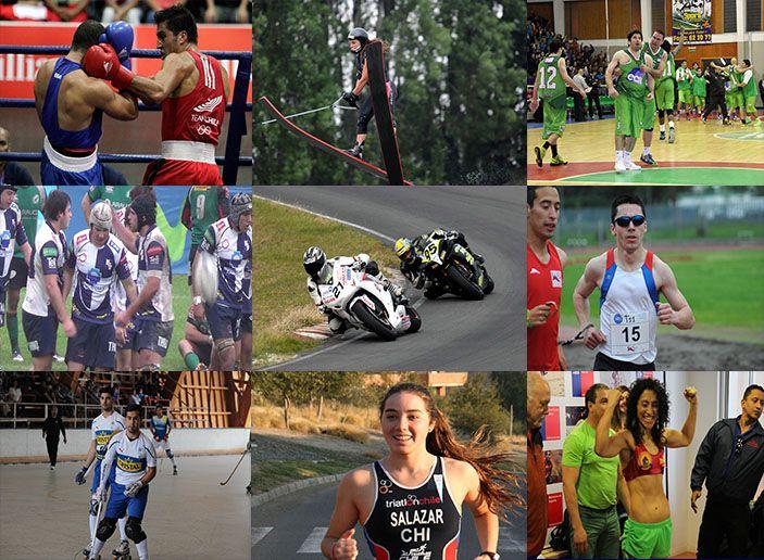 Esquí náutico, boxeo, básquetbol, rugby, motociclismo, atletismo paralímmpico, hockey patín y triatlón en la nueva actualización de www.paisdeportivo.cl