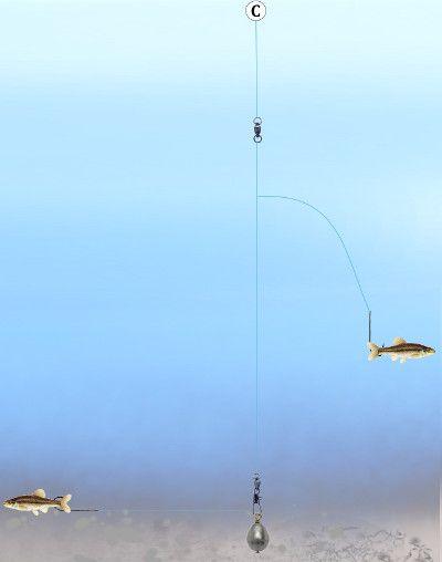 Fishing tandem kentucky bottom rig fishing pinterest for Bottom bouncer fishing