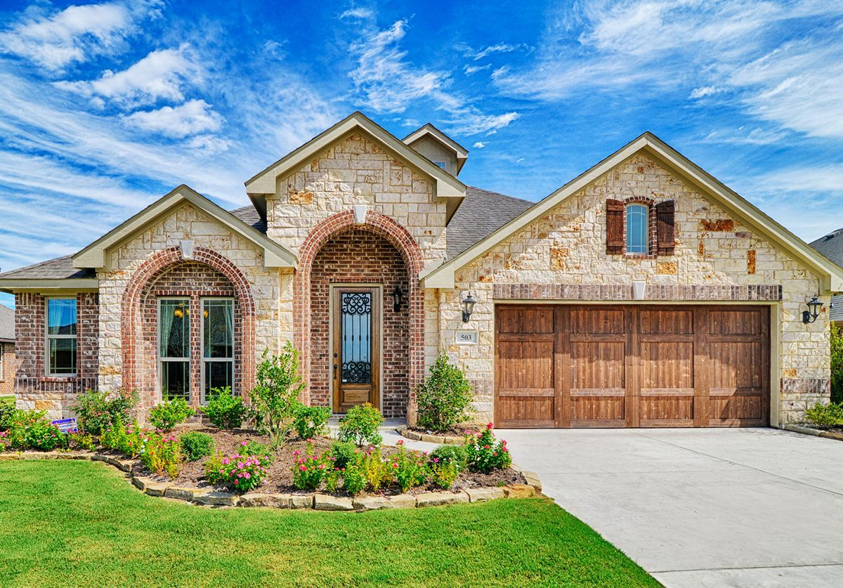 New Homes in Mesquite TX Hagan Hill Bloomfield Homes
