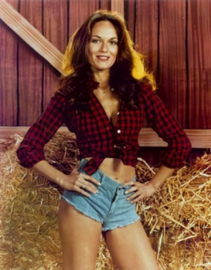 10 quick ways to turn blue jeans into a halloween costume catherine bach dukes of hazarddaisy - Daisy Dukes Halloween Costume