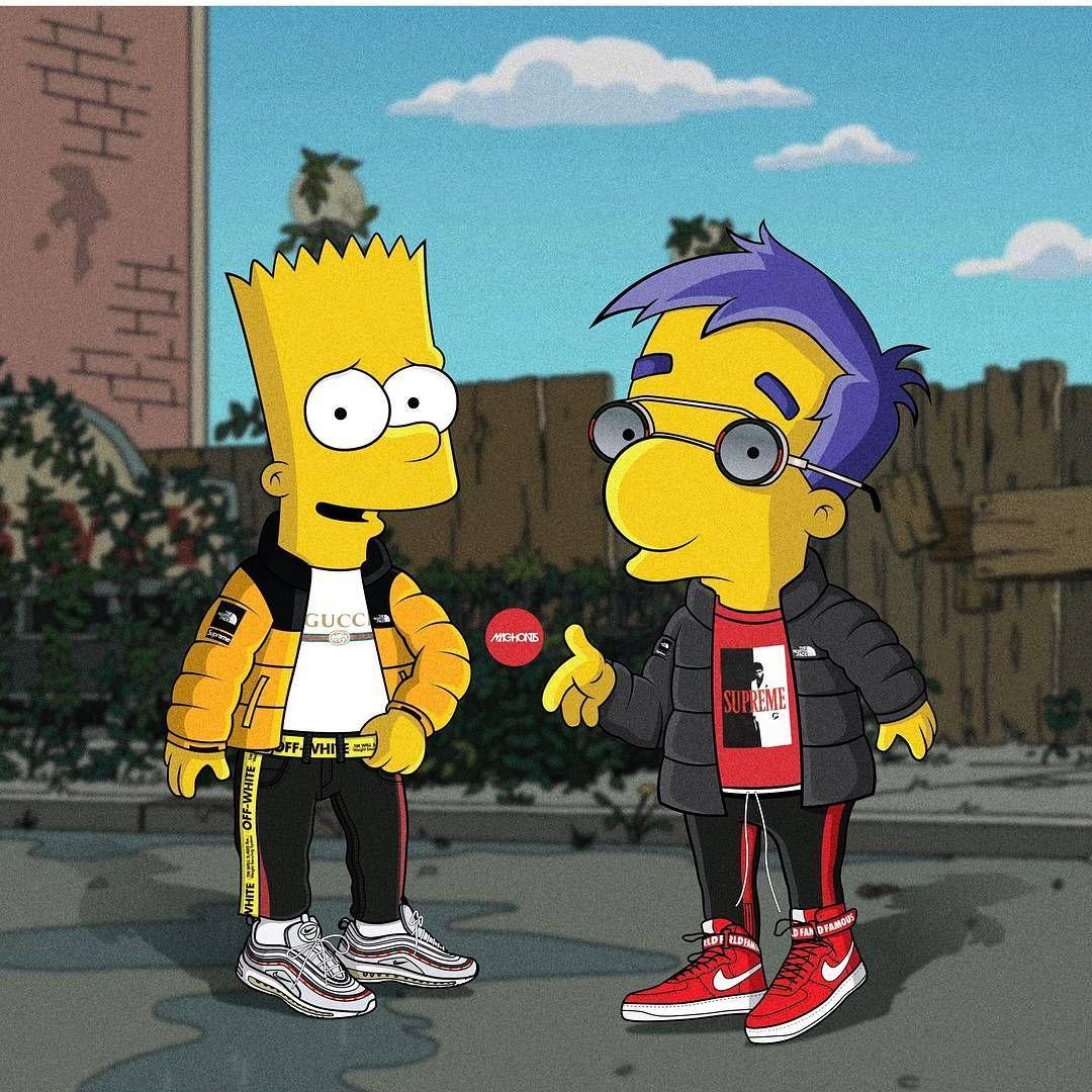 Pinterest ADC Simpsons art
