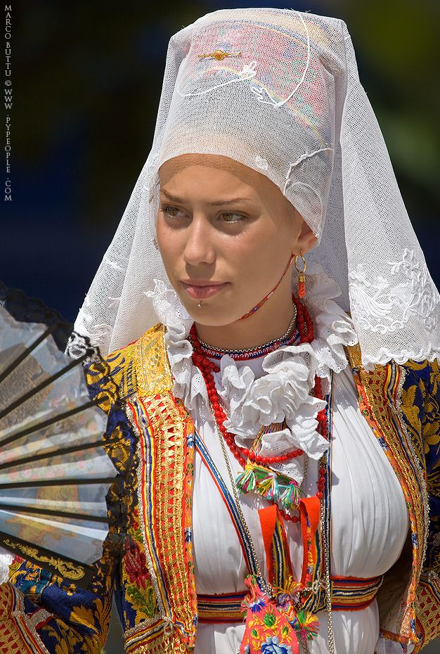 Sardinia - Italy.. Ollolai Woman Suit | Ethnic Dress ...