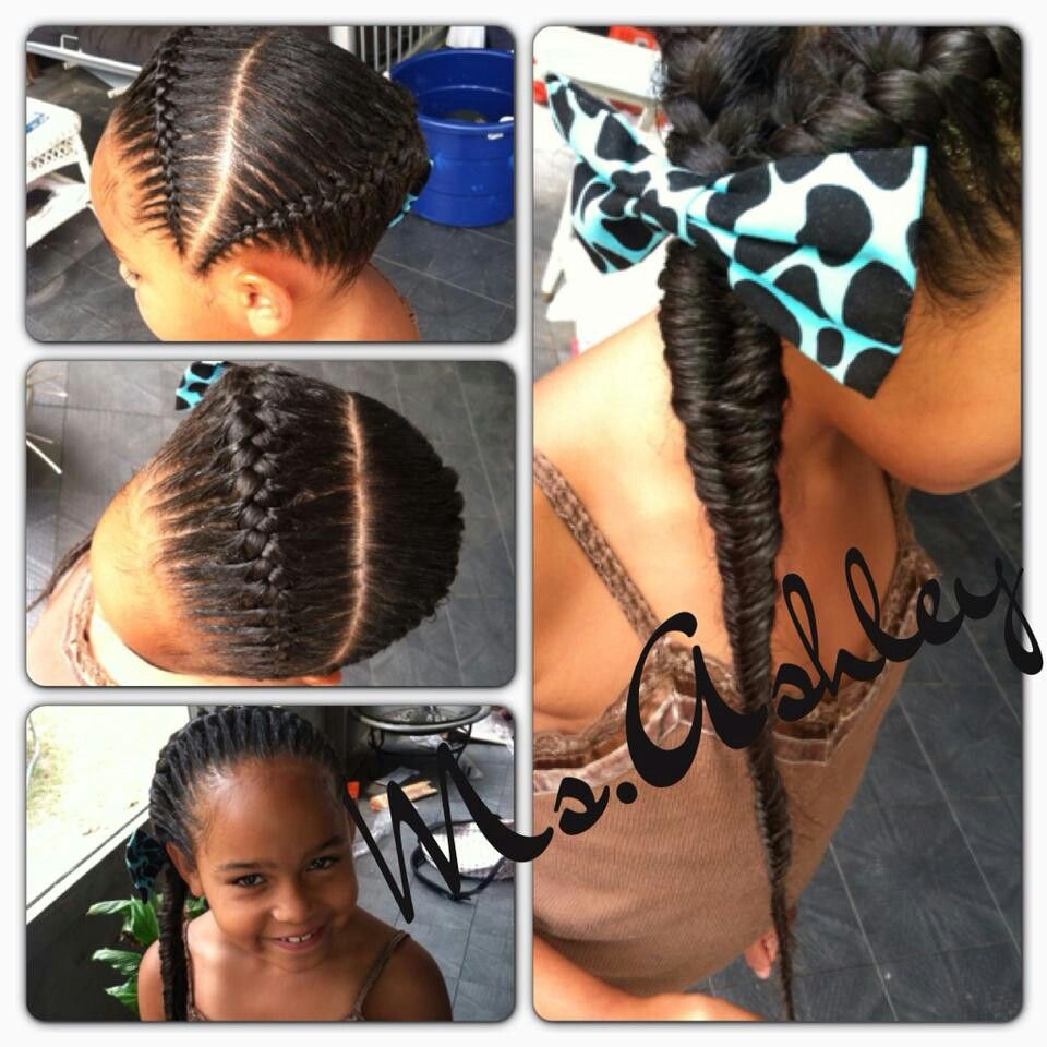 Two French Braidsmple And Nice Girls Braided Hairstyleslittle