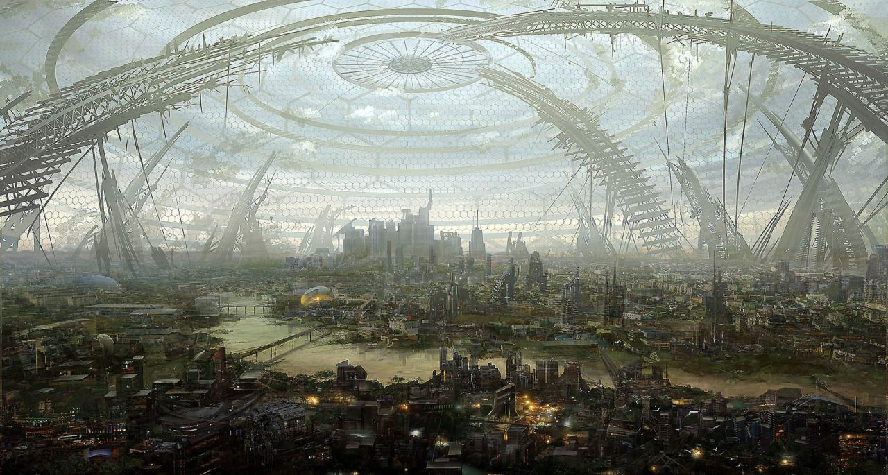 Illia The Dome City You Can T See What It Looks Like From The