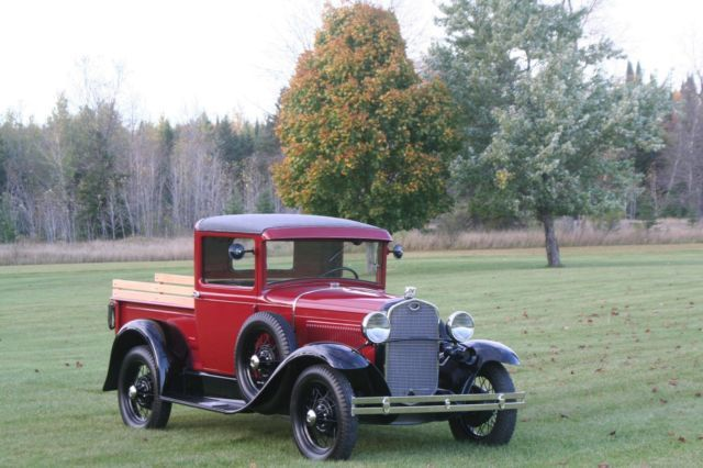 1930 Ford Model A Closed Cab Pickup For Sale Photos Technical