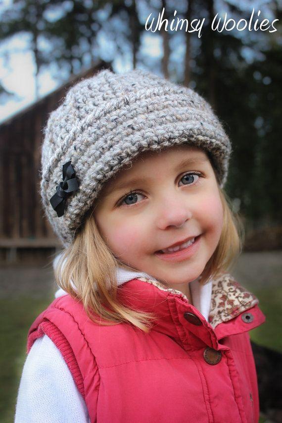 Patrón ganchillo: Muchachos \'Keenan Cap\' / Girls Sombrero, bebé ...