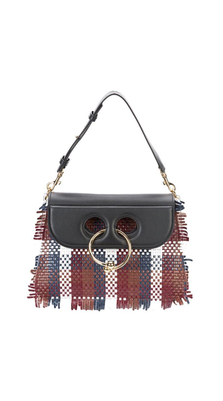 782c0d068 J.W.ANDERSON woven 'Pierce' bag, shop now at Farfetch. | .accessory ...
