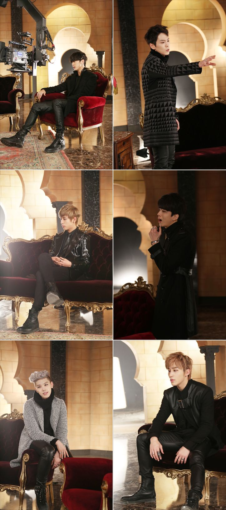 "B.A.P filming ""1004/Angel"""
