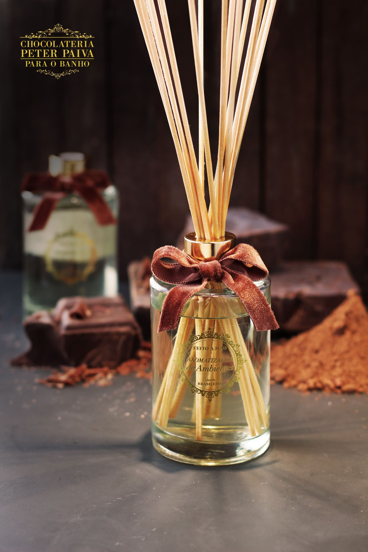 Aromatizador De Varetas Tons Brancos 20 Chocolate Branco 20