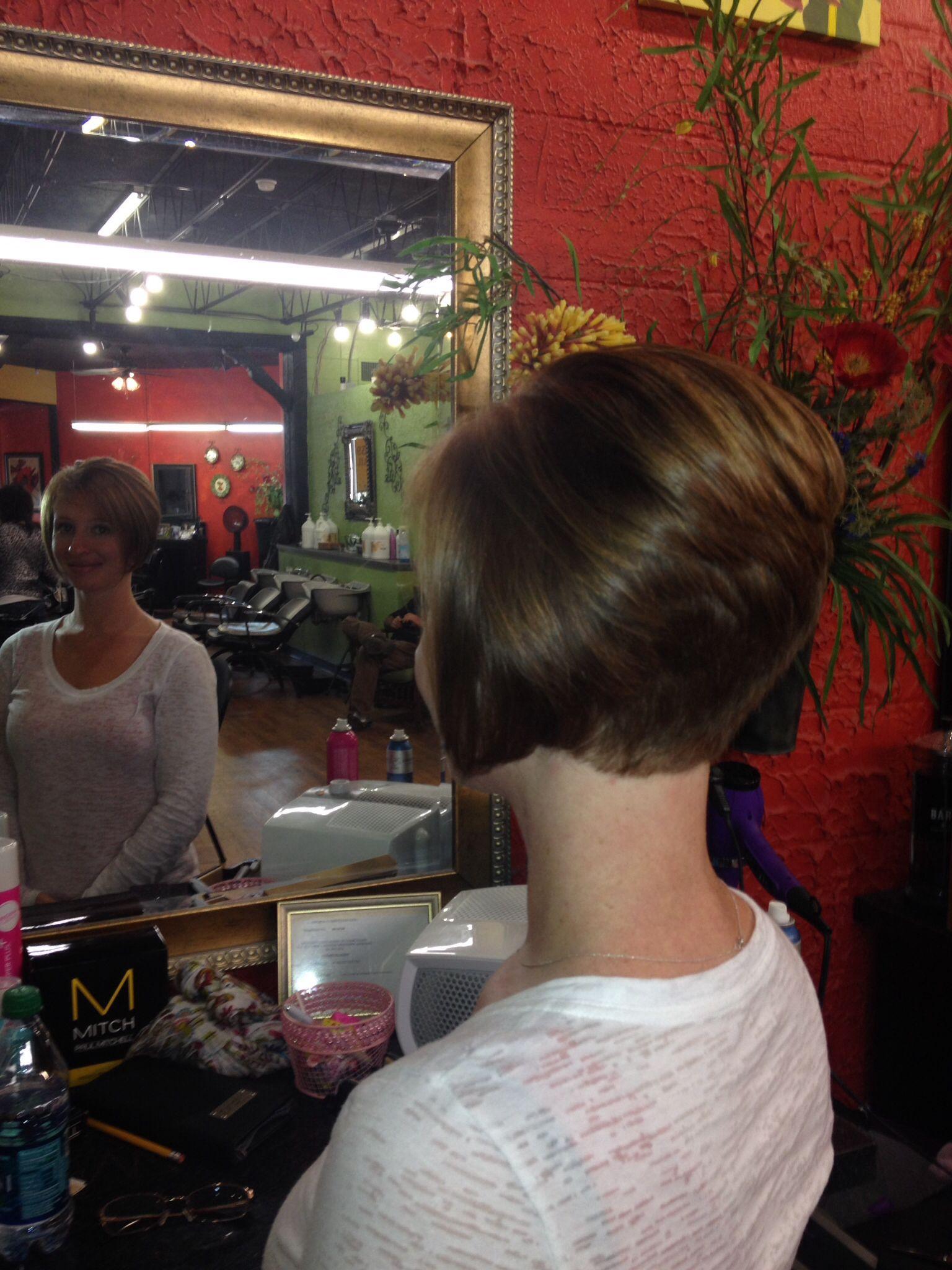 Hair-Cut By  Angela Hall