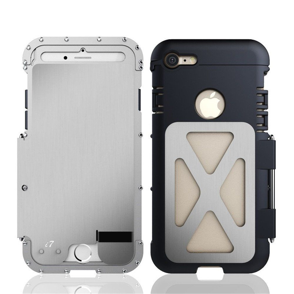 Iphone 7 Case Heavy Duty Armor King Cool Full Body Hybrid Goospery Samsung Galaxy S9 New Bumper X Black Defender Shockproof Luxury Aluminum Metal Protective Cover For Apple