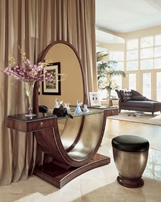 Old Hollywood Glamour Furniture Decor