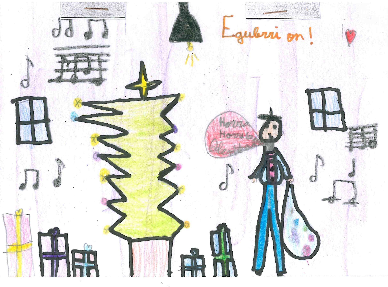 Noa Arriazu 2º E Primaria Concurso De Dibujo Dibujos