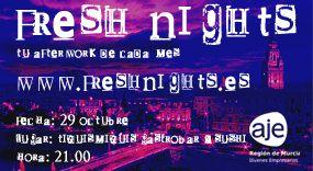 FRESH NIGHTS. 29 OCTUBRE. TIQUISMIQUIS GASTROBAR & SUSHI