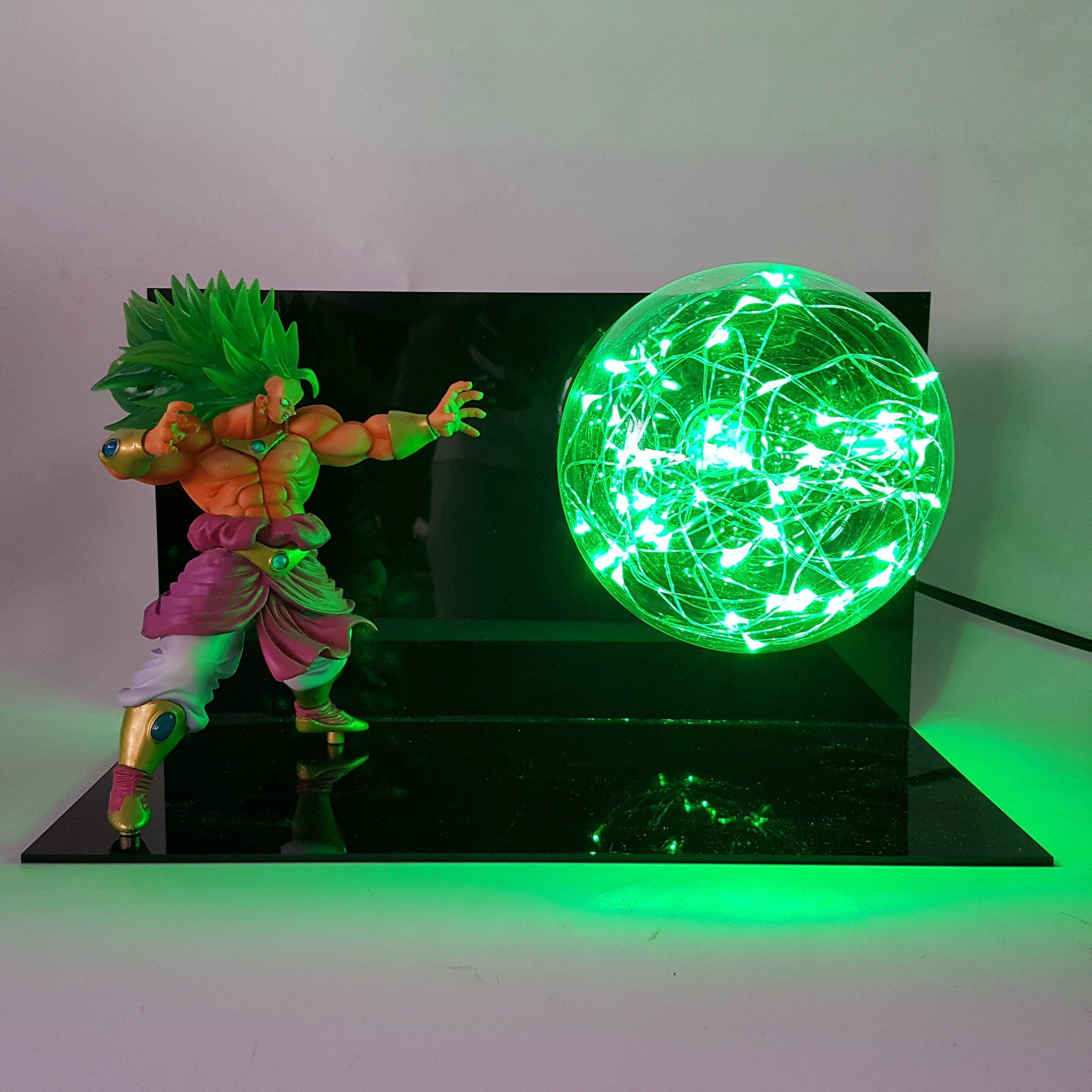 Broly super saiyan lamp dragon ball dragon ball z do