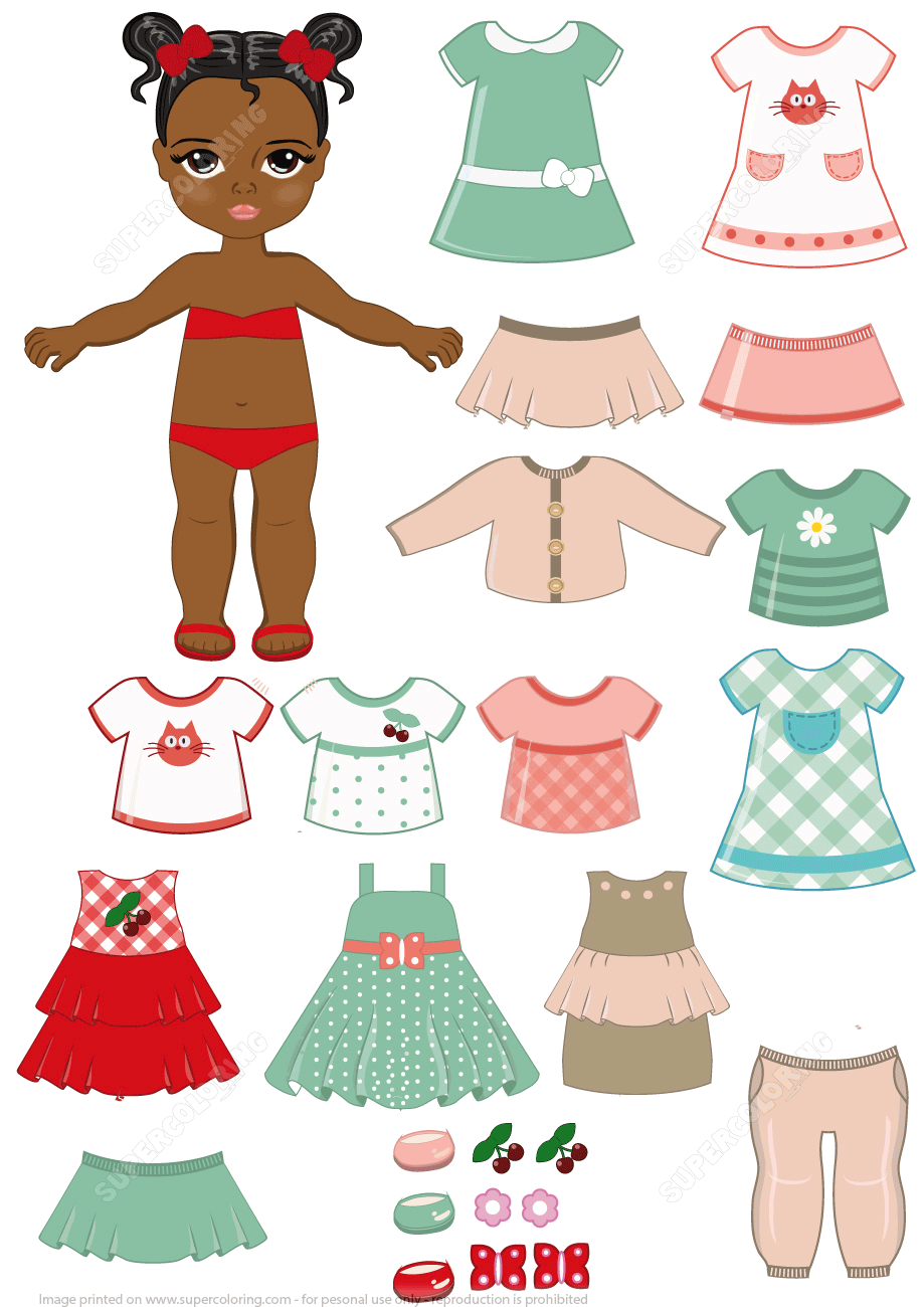 free cut out dolls and clothes
