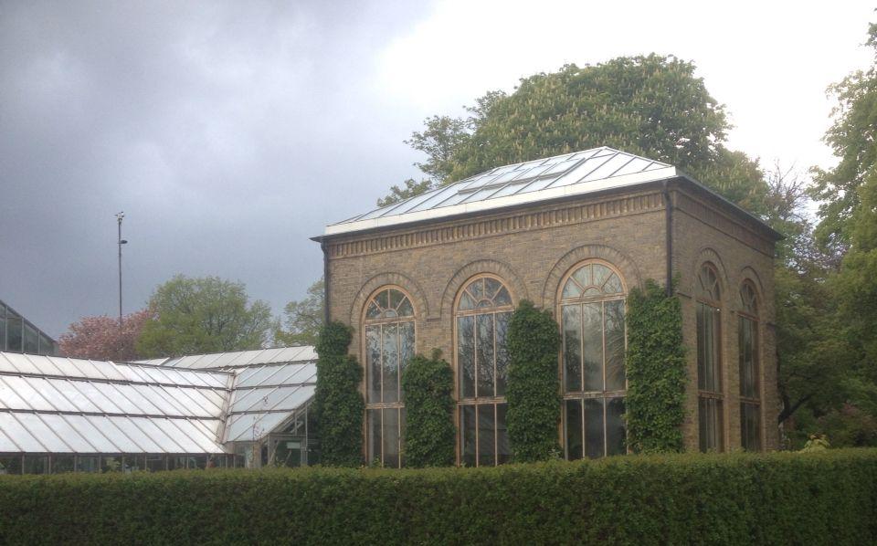 Botaniska trädgården i Lund.
