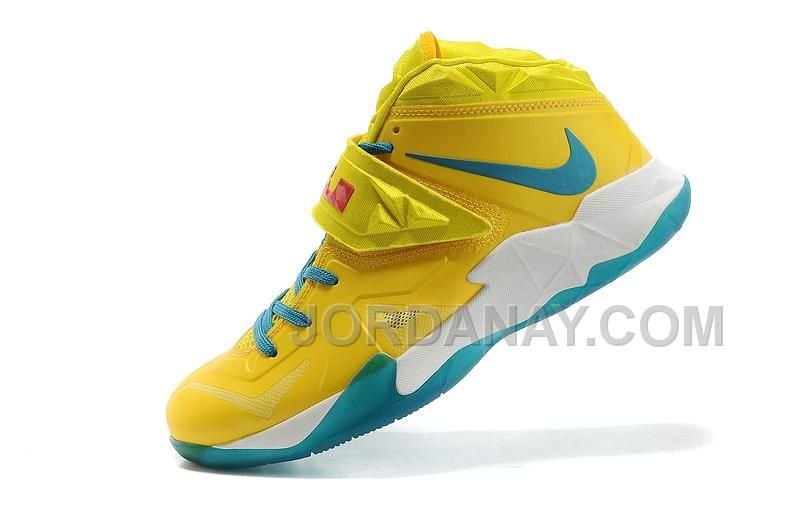 online store df338 9e191 Buy Lebron Nike Zoom Soldier Sonic Yellow-Gamma Blue For Sale from Reliable Lebron  Nike Zoom Soldier Sonic Yellow-Gamma Blue For Sale suppliers.