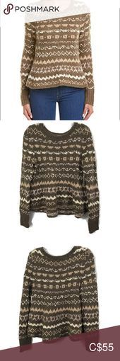 free people through the storm sweater nwt  free people through the storm sweater nwt