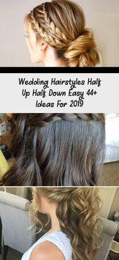 Wedding Hairstyles Half Up Half Down Easy 44+ Ideas For 2019 - Hair Styles Hairstyles For Long Hair Bridal Half Up Half Down New Wedding #hair #hairstyles #bridalhairstylesBob #bridalhairstyles2018 This image has get 0 repins. Author: Hair Styles #Easy #Hair #hairstyles #Ideas #Styles #Wedding