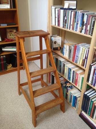 Vintage Library Ladder   1950s   Putnam Rolling Ladder Co., Inc. Posted On