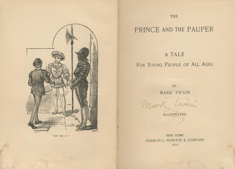 Mark Twain Samuel Clemens Exceedingly Rare Signed Copy
