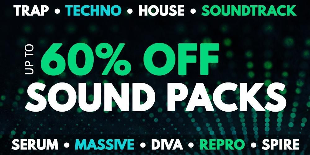 Get up to 60% off New Loops - Sample Packs, Synth Presets and