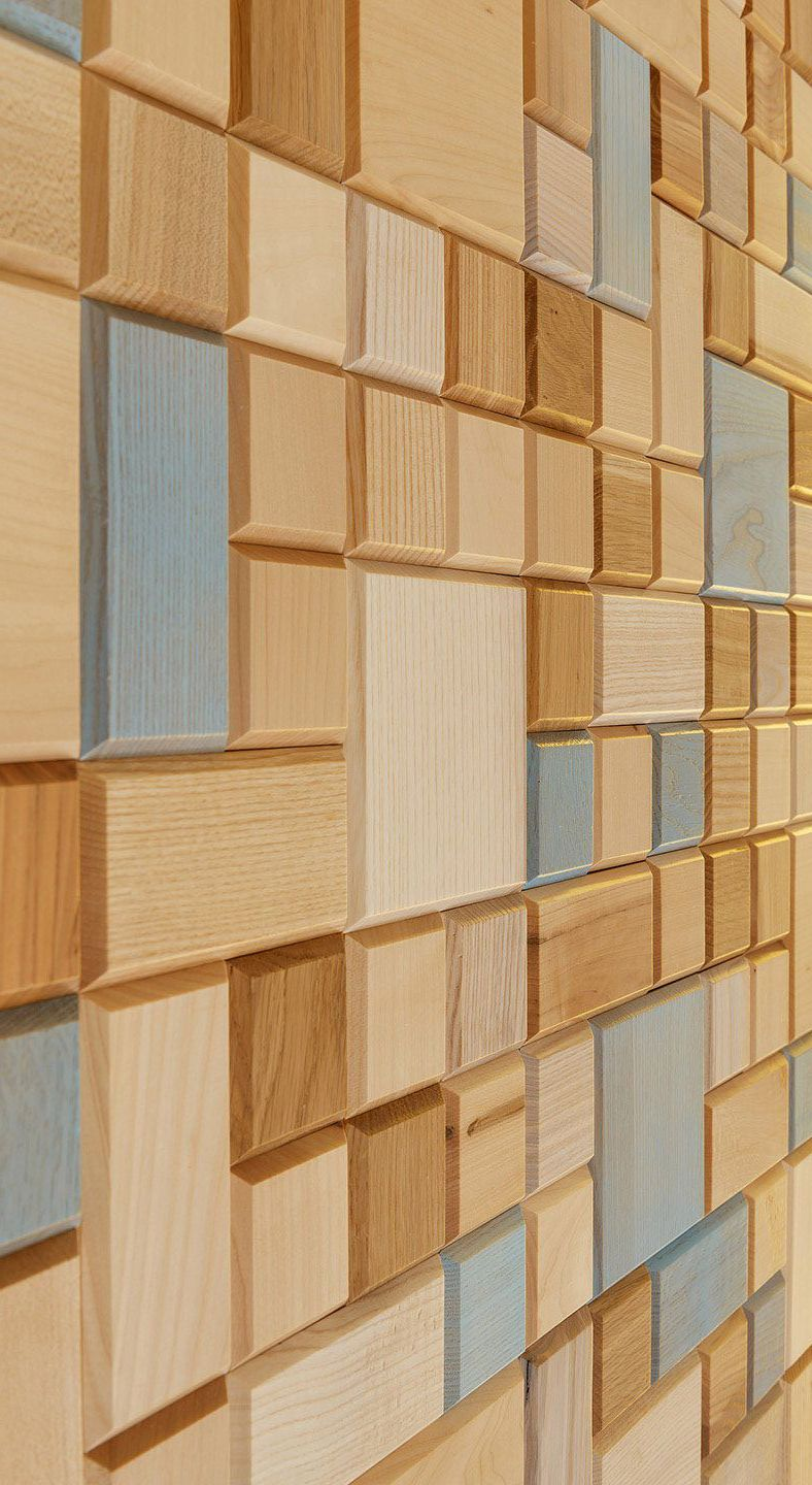 Wooden Panels Tessellated Color Wooden Wall Panels Modern Wall Paneling Wall Decor Design