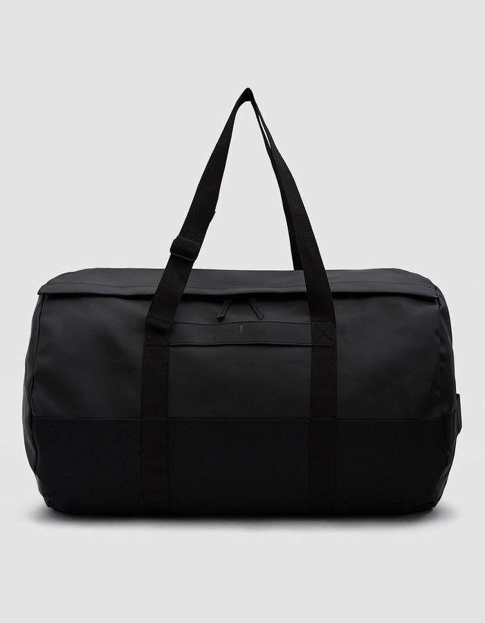 033e6cbb544 Travel Duffle Bag in Black | Products | Duffle bag travel, Bags ...