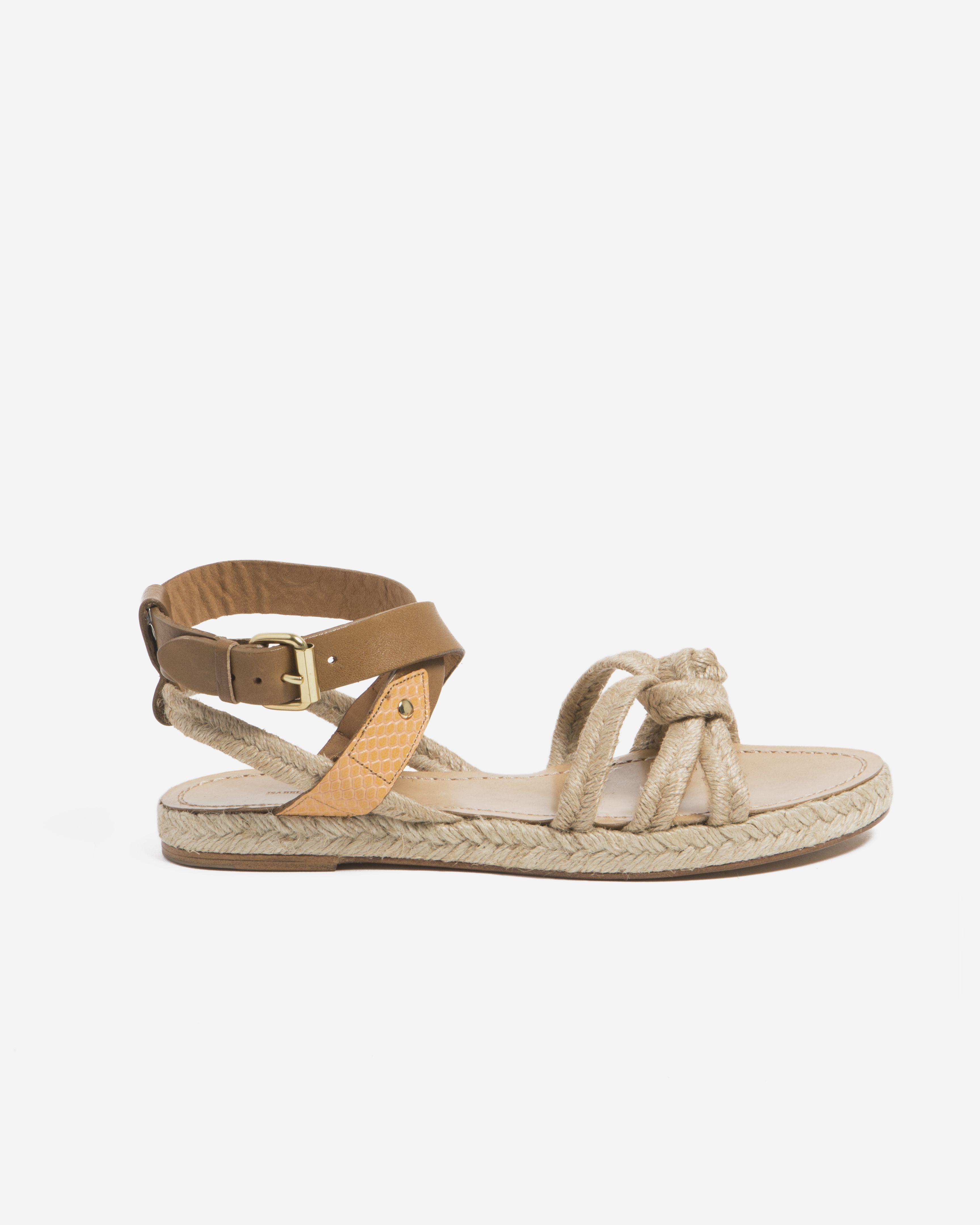 Camila Rope Sandal - Natural