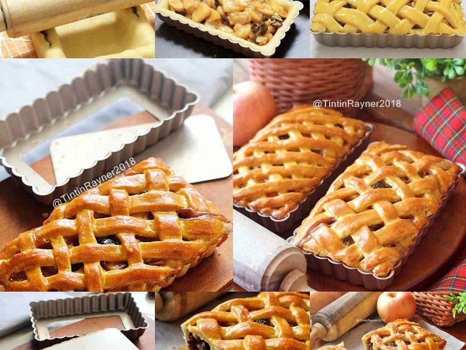 Resep Classic Apple Pie Super Yummy Crunchy Oleh Tintin Rayner Resep Pie Apel Makanan Resep
