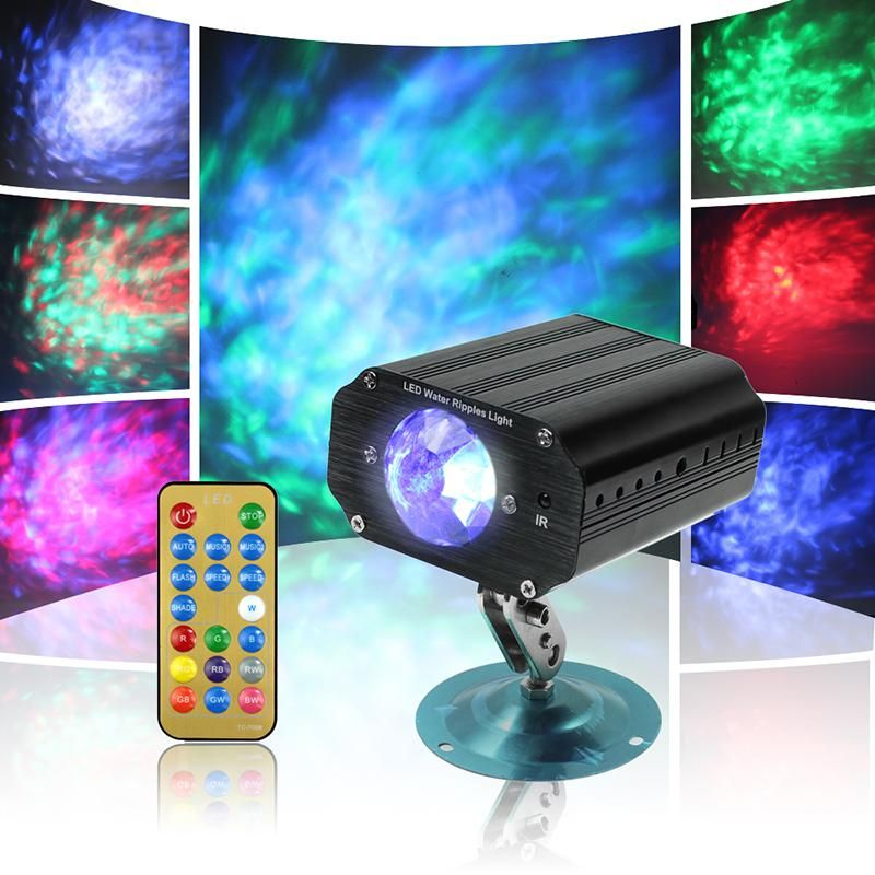 ir remote control led stage light projector mini laser stage
