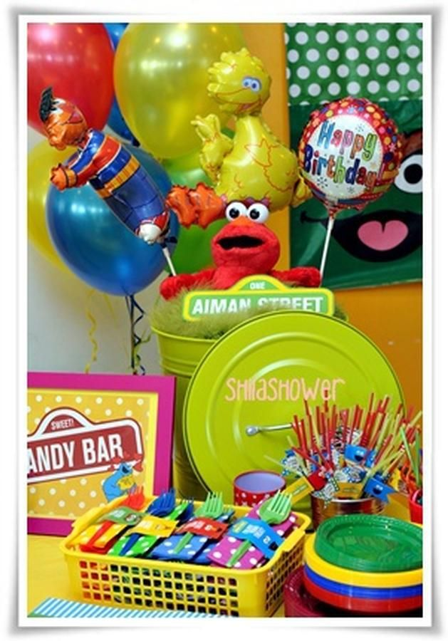 Sesame Street Party--Brystal would love this!!!!!